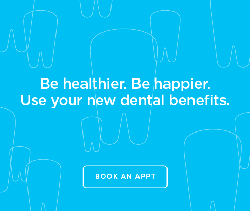 Be Heathier, Be Happier. Use your new dental benefits. - Vista Modern Dentistry